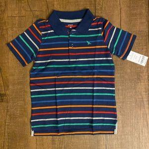 Carter's Boys Collar Short Sleeve Polo Shirt 4T